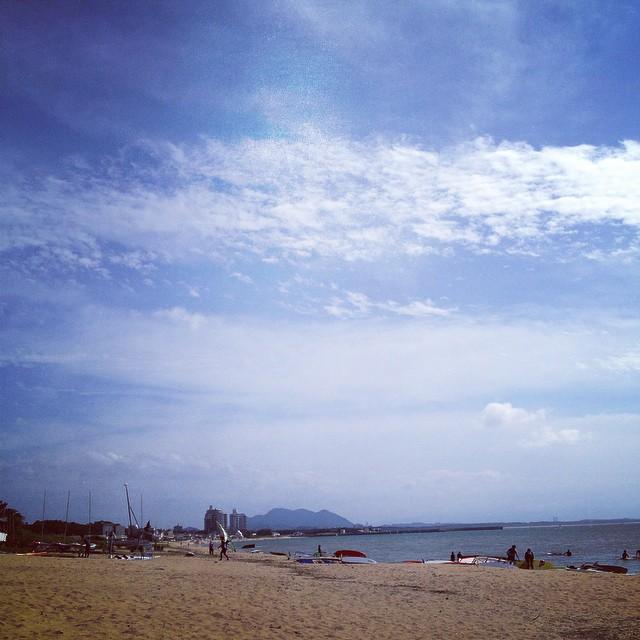 夏は終わりだな #イマソラ #空 #雲 #like #sea