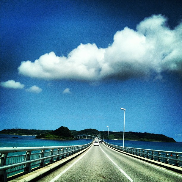 #角島 #橋 #海 #夏