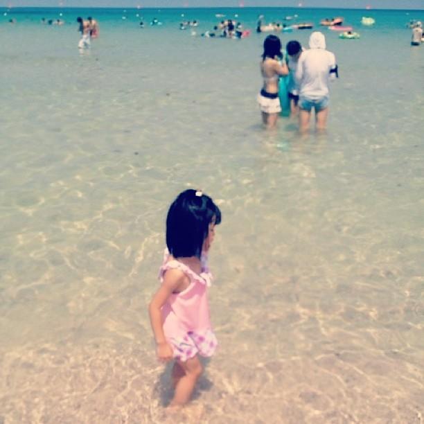 #海 #女の子 #sea