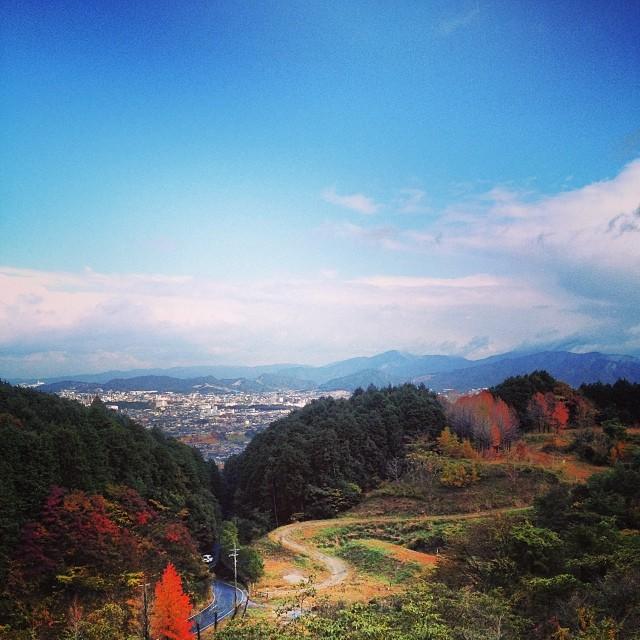 寒いけど良い景色 #イマソラ #空 #雲 #like #sky #紅葉