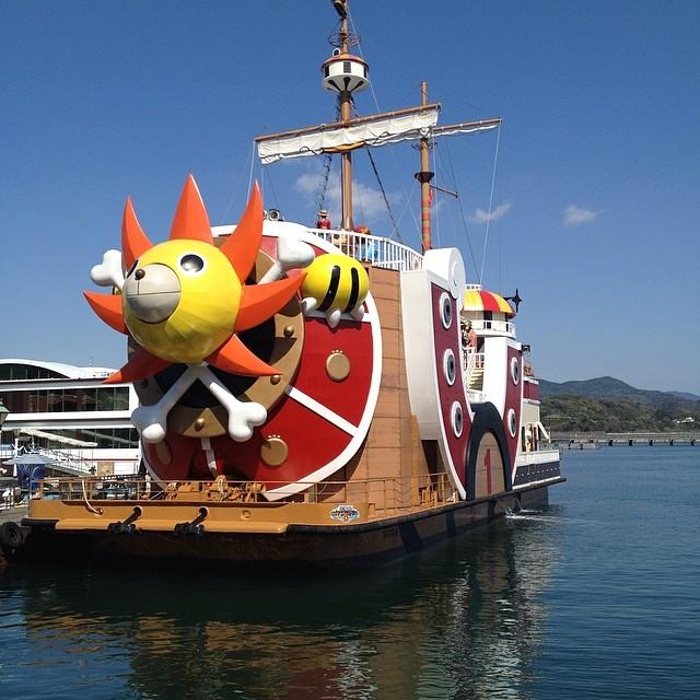 サウザンサニー号 #イマソラ #空 #雲 #like #ship #船