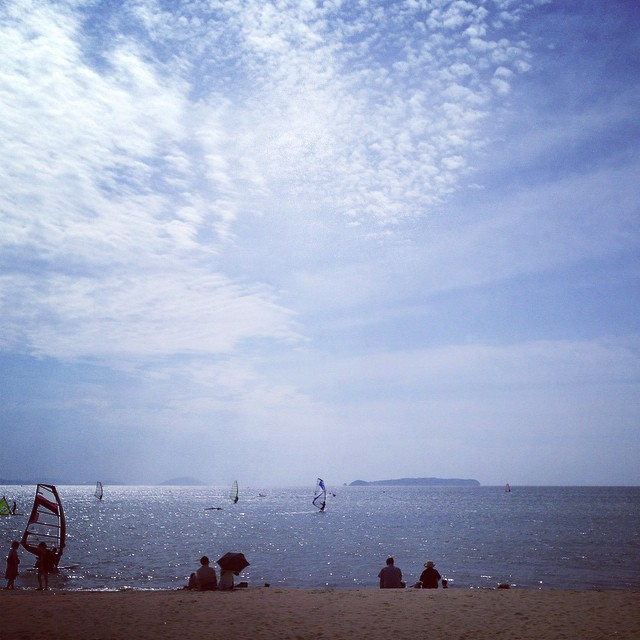 涼しい海岸 #イマソラ #空 #雲 #海 #like #sky #sea